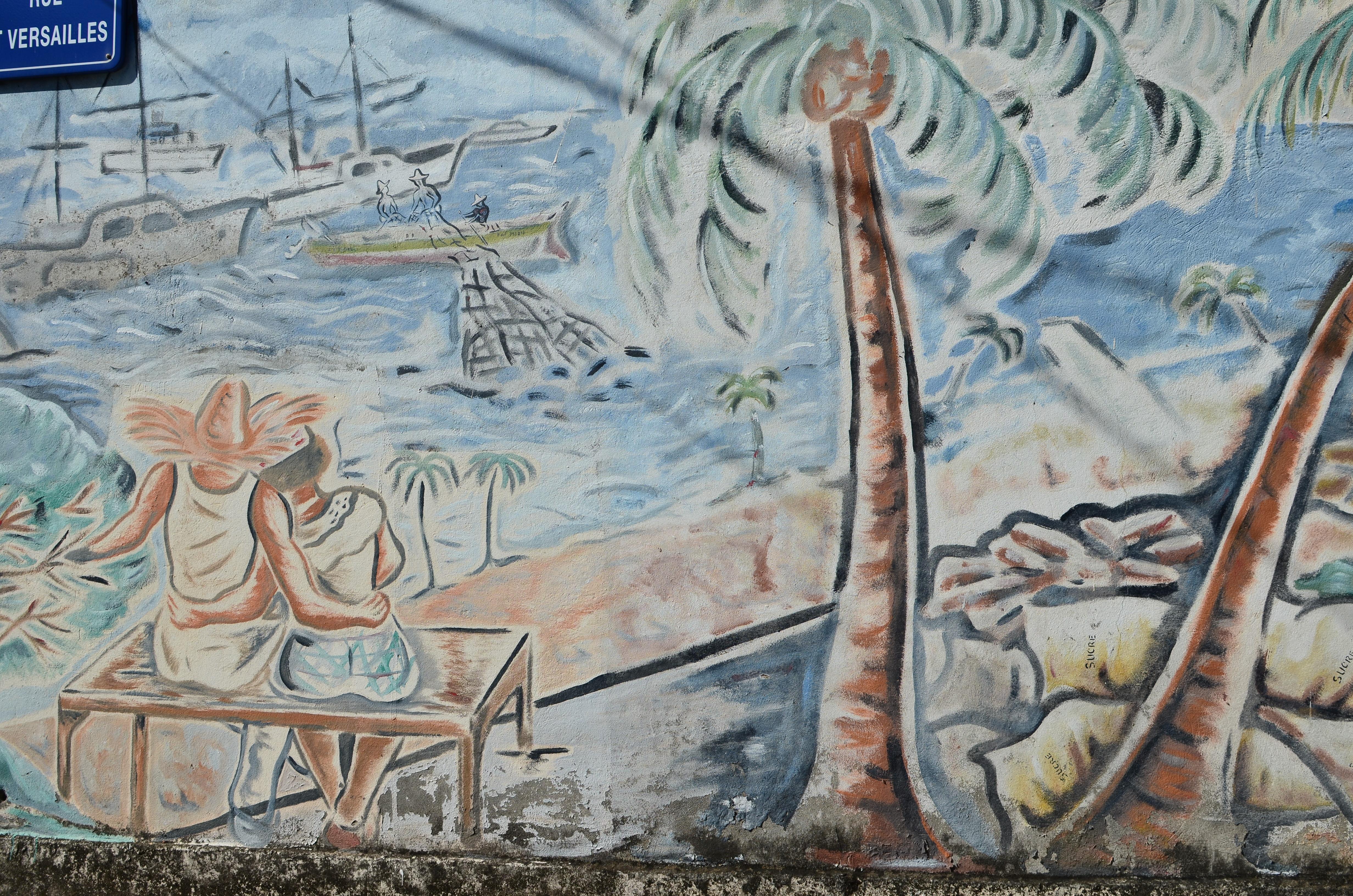 malownicze uliczki na Karaibach