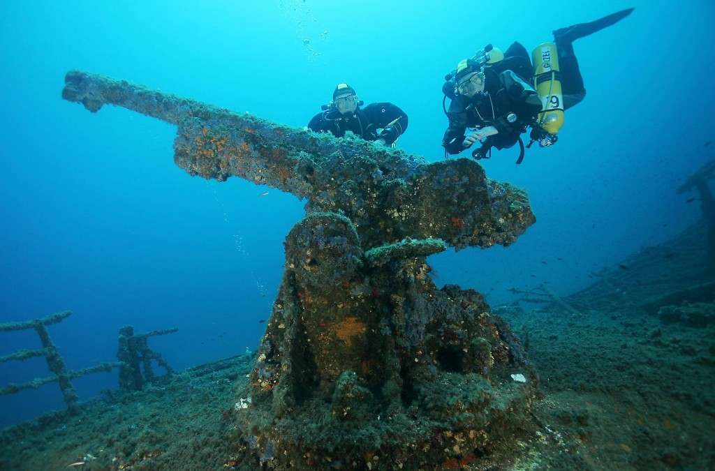nurkowanie na Sardynii