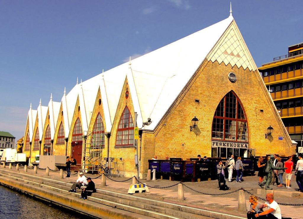 Goteborg - kościół rybny-kopia
