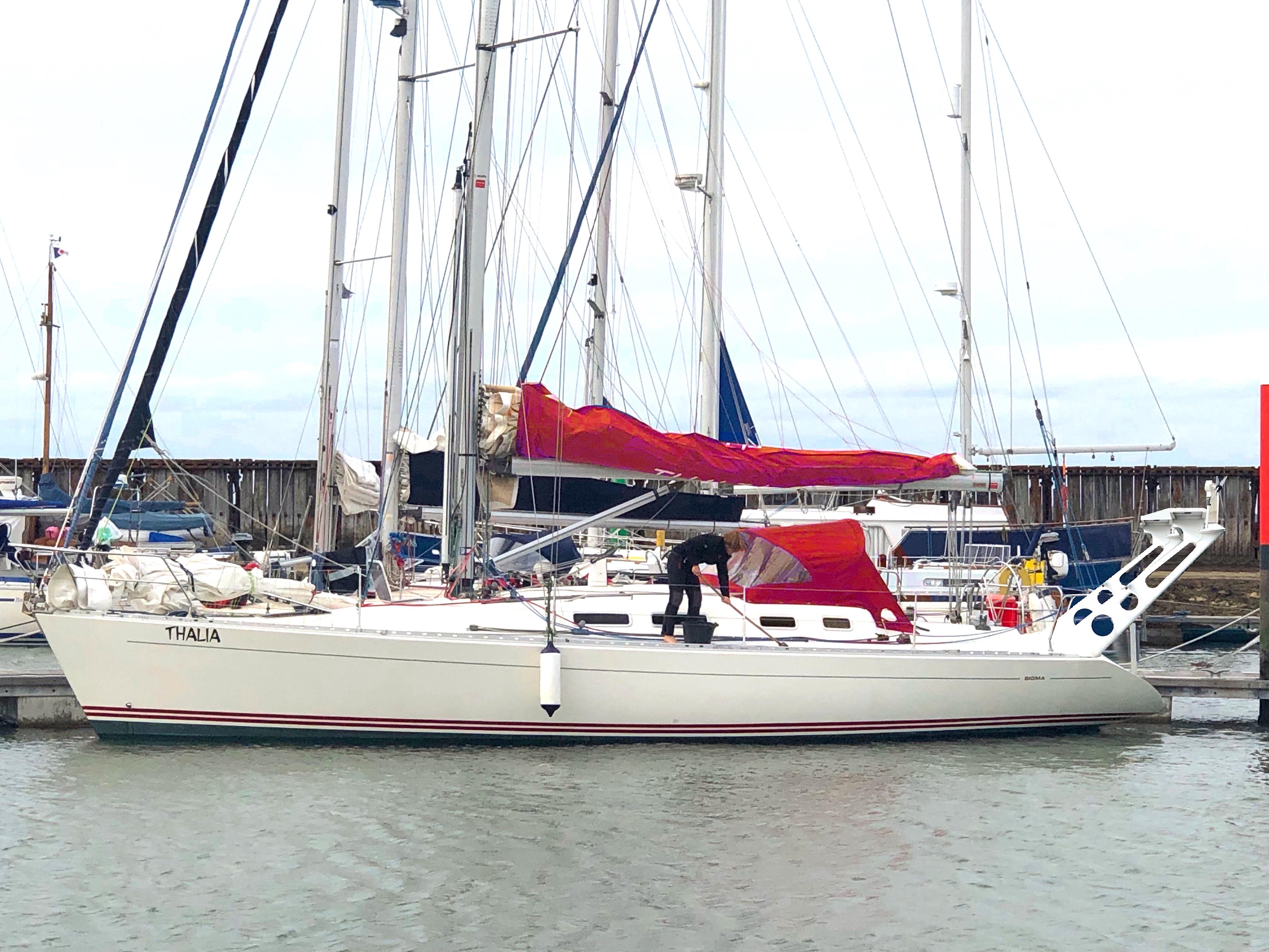 Sigma 400 Morski jacht regatowy